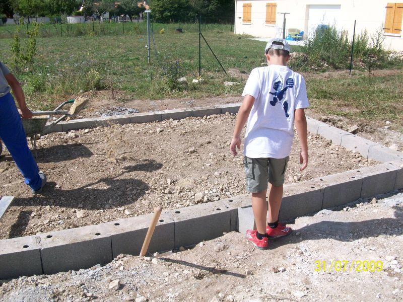 Debut de mon auto construction d un abri de jardin la for Autorisation construction abri de jardin